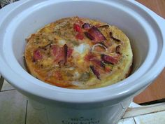 Great low-carb CROCK POT breakfast!  What a wonder those little things are!