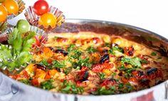 En härlig krämig och smakrik pastagratäng med kyckling.