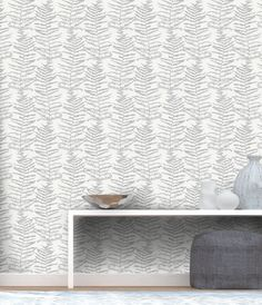 WonderWall | Erismann | Central Park Fern White | 5953-10