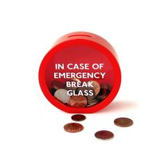Emergency Money Box (By Suck Uk), 2015 Amazon Top Rated Money & Banking #Home