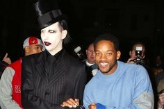 Marilyn Manson and Will Smith: