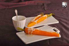 Szybko Tanio Smacznie: Gotowana młoda marchewka z sosem z tahiny