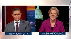 Ms. Warren's thwarted attempt to read a Coretta Scott King letter on the Senate floor was Topic A for some late-night hosts.