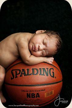 Newborn Photography, newborn basketball www.jacquelinephotography.net