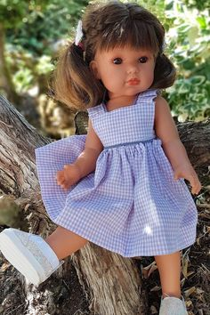 Laine Rico, Dyi Crafts, Baby Dolls, Doll Clothes, Sewing Patterns, Flower Girl Dresses, Summer Dresses, Wedding Dresses, Banquette