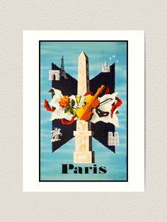 Vintage Travel Poster undefined,travel poster,travel,vacances,poster,travelposter,holiday,vintage,clasic,retro,coloured,wanderlust,cruise,railway,railroad,1920,1930,1940,1950, Retro Color, Vintage Travel Posters, Paris Travel, Cruise, Wanderlust, France, Holiday, Painting, Photos