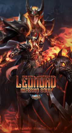 Leomord Inferno Soul by FachriFHR on DeviantArt Mobile Legend Wallpaper, Hero Wallpaper, Moba Legends, Anime Wallpaper Phone, Boy Mobile, Legend Games, Esports Logo, Feature Wallpaper, Renz