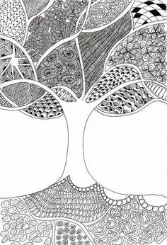 Zentangle Patterns | The Journal of a Struggling Artist