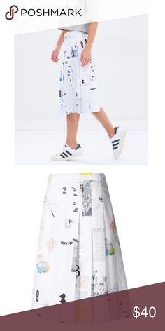 Adidas Originals IP Skirt Size S New Adidas Originals IP Pleat skirt Size  S- 30 60a5e40ba9796