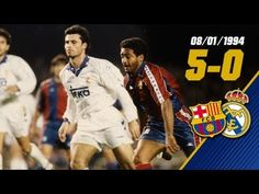 FOOTBALL -  FC Barcelona - Real Madrid (5-0). Season / Temporada 1993/94 - http://lefootball.fr/fc-barcelona-real-madrid-5-0-season-temporada-199394/