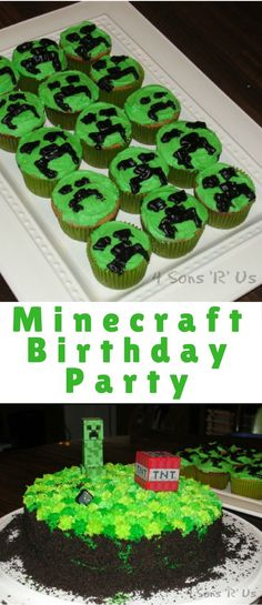 With a little patience, and a little ingenuity, you can easily throw your own DIY Minecraft birthday party.
