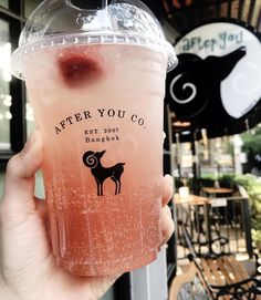 #Repost @findbubbletea repost credit @afteryoudessertcafe ume japanese plum soda #findbubbletea #drinks #specialtydrinks #bbt #boba #bubbletea #milktea #tea #trasua #bobatea Fun Drinks, Yummy Drinks, Yummy Food, Beverages, Tasty, Japanese Sweets, Japanese Plum, Copo Starbucks, Eat This