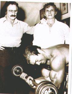 Joe Weider, Larry Scott And Vince Gironda