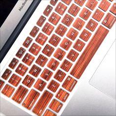 Macbook Keyboard Cover - Wood