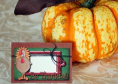 cute  free printables Thanksgiving name cards