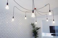 Renovation work finished at Studio 383 Birmingham. Plumen 001 designer light bulb are available to buy worldwide from www.plumen.com