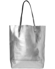 £26 All Accessories | Metallics Avery Leather Shopping Tote Bag | Phase Eight