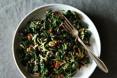 Kale and Brussels Sprout Salad with Honey Balsamic Dressing recipe on Food52