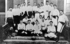 These are extremely rare pictures of Charles Miller, the British gentleman who arrived in Brazil in 1894 with a football under each arm and introduced the country to the sport. Without his passion for the game, football in Brazil may have never taken off and the beautiful game - and Brazilian culture - may never have become what we know them to be. Son of a Scottish dad and an English mum, he was born in Sao Paulo