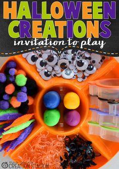 Halloween Creations - Invitations to Play