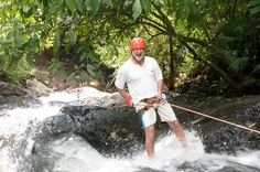 Full Day Jaco Jungle Adventure Pass Adventure all day in the Jaco Jungle horseback riding, ziplining, waterfall rappelling and ATV-ing in an 850 acre private river valley. Professional English speaking guides lead you deep into the jungle past nesting macaws, troops of monkeys and everything costa rica all in one place. Take a break for an authentic Costa Rican Lunch and relax in a Jurassic park like setting expecting to see a dinosaur lumber by.You are picked up from your hot...