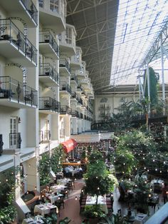 The Opryland Hotel - Nashville, TN by Myra Luker