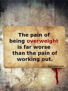 Weight loss motivation More