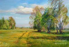 Ìàéñêèé âåòåð Painting - May Wind by Roman Romanov