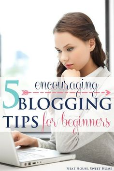 These 5 blogging tips for beginners are encouraging and the key for blogging success. Grab a cup of coffee: it's a good read!