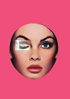 Jean Shrimpton // Retro art