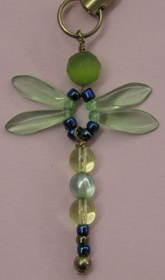 How to Make Beaded Bugs | Dragonfly Kit This kit contains all the beads and findings to make ...