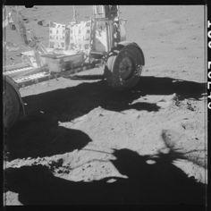 Apollo 17 Hasselblad image from film magazine 133/J - EVA-2