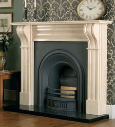 Buy Online Cast Tec Durham Mocha Beige Fire Surround with FREE delivery to UK mainland Marble Hearth, Marble Fireplace Surround, Fire Surround, Marble Fireplaces, Fireplace Surrounds, Durham, Fireplace Fronts, Multi Fuel Stove, Beige Marble