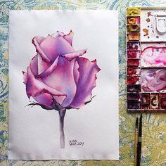 Watercolorist: @irina_sart  #waterblog #акварель #aquarelle #painting #drawing #art #artist #artwork #painting #illustration #watercolor #aquarela