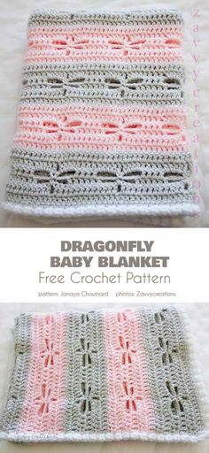 Beautiful Baby Blanket with Lace Motifs Free Crochet Patterns Free Baby Blanket Patterns, Crochet Blanket Patterns, Baby Blanket Crochet, Knitting Patterns, Knitted Baby, Knitted Dolls, Crochet Blankets, Crochet Motifs, Crochet Stitches