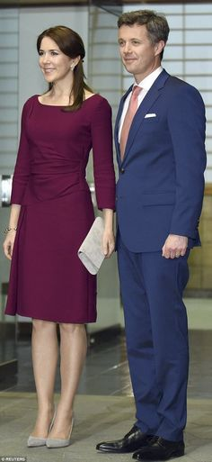 Danish State Visit to Japan, Day 3, March 28, 2015-Crown Prince Frederik and Crown Princess Mary attended a dinner with Crown Prince Naruhito at the Akasaka Palace