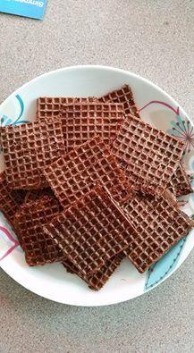 166. Zabpelyhes ostya Waffles, Paleo, Bread, Chocolate, Breakfast, Winter, Food, Waffle, Breads
