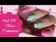 Nail Art Verão - Flores