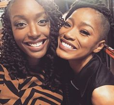 """Franchesca Ramsey: look who's back! tune in to @thenightlyshow catch @kekepalmer in her first tv performance of her new song with Jon Conner """"Fresh Water for Flint"""" along with our panel discussion about the #flintwatercrisis #tonightly 3/2 at 11:30pm est on Comedy Central #feministsofinstagram"""