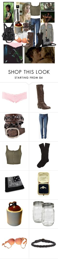 """The Walking Dead Surviving with Daryl"" by werewolf-gurl ❤ liked on Polyvore featuring Charlotte Russe, Wild Diva, Anzell, Hudson Jeans, Ally Fashion, Brooks Brothers, La Perla, H&M and Ulla Soucasse"