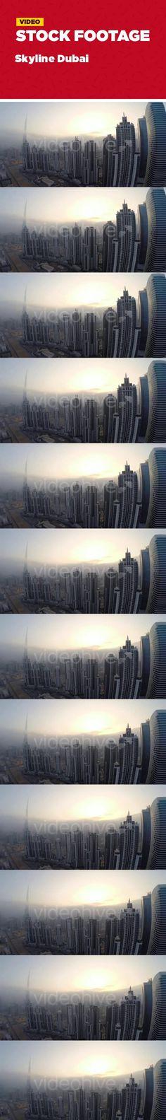 buildings, burj, burj khalifa, city, city skyline, cityscape, dubai, Dubai skyline, flying, high altitude, skyline, skyscraper, skyscrapers, towers Sunset in Dubai with View over Skyline, while the Burj is breaking through a cloud