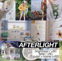 Afterlight filter.