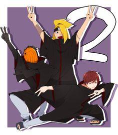 暁LOG① [37] Akatsuki, Naruto, Fanart, Cute, Anime, Kawaii, Fan Art, Cartoon Movies, Anime Music