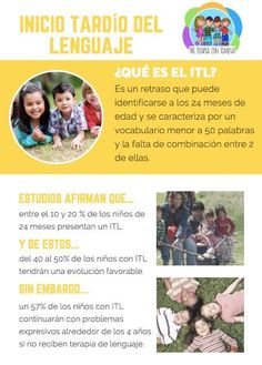 inicio tardío del lenguaje Baby Kids, Parenting, Bb, Speech Therapy, Frases, Dyslexia, Autism, Psicologia, Better Life