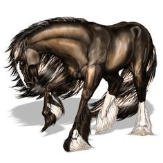 Visit Taking On The Wolves! All The Pretty Horses, Beautiful Horses, Horse Drawings, Animal Drawings, Horse Animation, Gypsy Horse, Horse Artwork, Power Animal, Unicorn Art