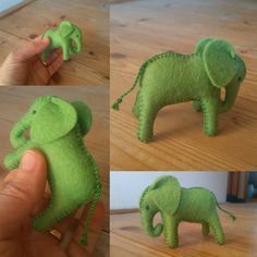 Toys For Girls, Gifts For Boys, Kids Toys, Sewing Stuffed Animals, Stuffed Toys, Baby Elephant, Stuffed Elephant, Dinosaur Stuffed Animal, Felt Gifts