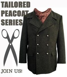 How to Sew a Tailored Peacoat