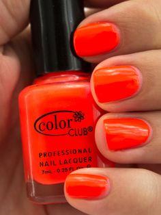 Color Club Nail Polish Lava Lamp