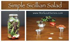 Simple Sicilian Salad - Workout Series