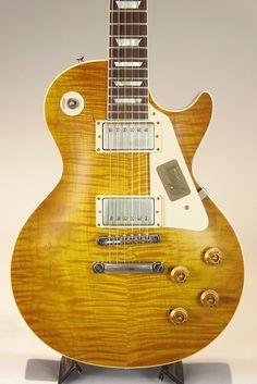 Guitar Art, Cool Guitar, Acoustic Guitar, Gibson Les Paul, Fender Esquire, Paul Design, Signature Guitar, Gibson Custom Shop, Les Paul Guitars